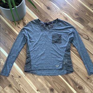 superdry cotton longsleeve tee